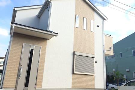 成田机场免费一次车接or车送。3个房间。2个大床房,1个和室榻榻米房。 - 印旛郡栄町 - 단독주택