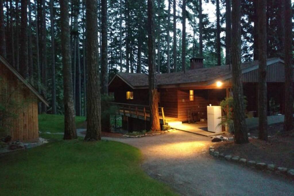 Main Lodge Driveway