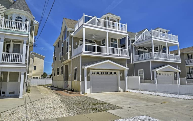 Inviting 4BR Sea Isle City House - Sea Isle City - Ev