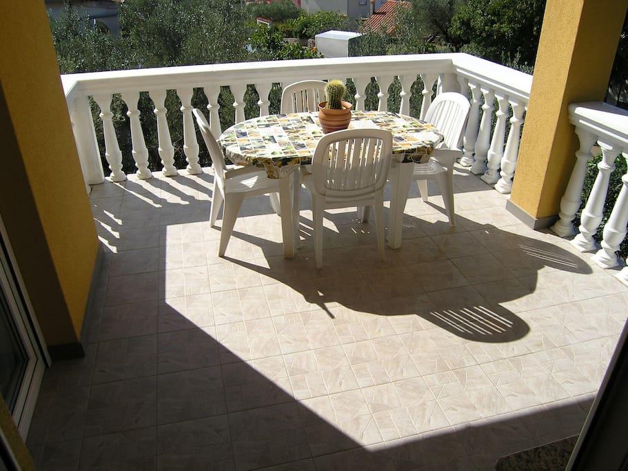comortable balcony