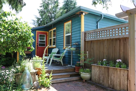 Cottage near the Cowichan River.