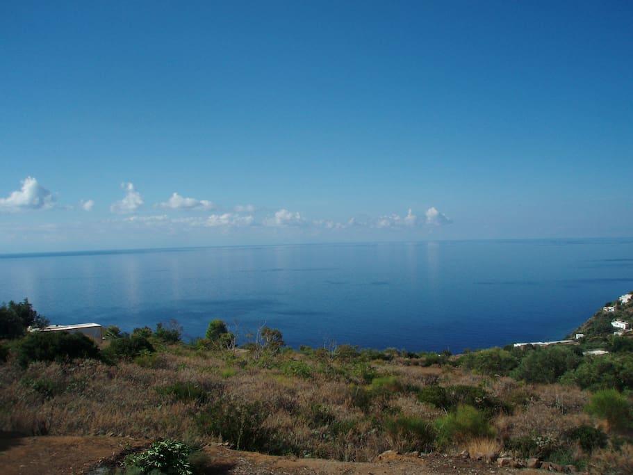 Vista mare dal terrazzo