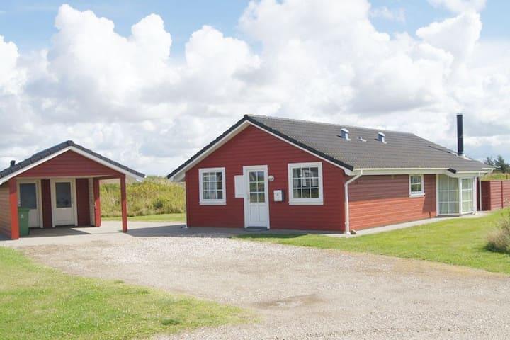 Sommerhus m. spa og sauna - Løkken - Houten huisje