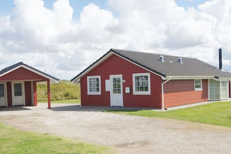Sommerhus m. spa og sauna - Løkken - 小木屋