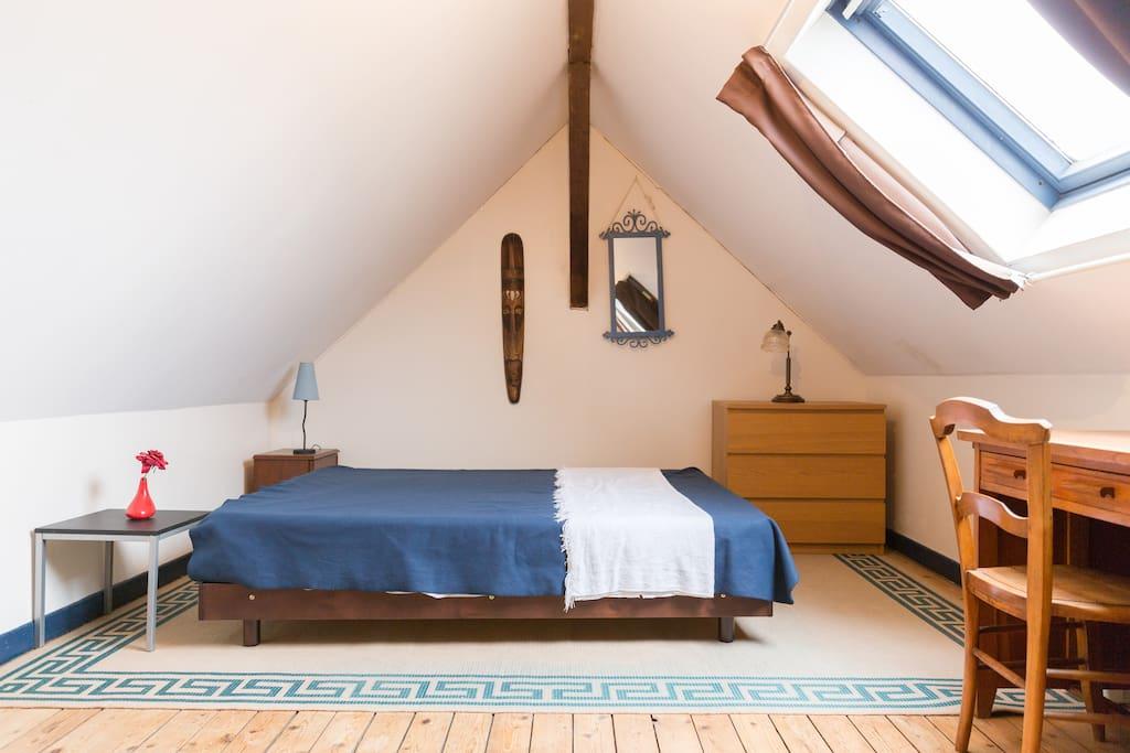 appartement en duplex 3 personnes grand volume. Black Bedroom Furniture Sets. Home Design Ideas