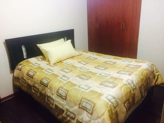Cuarto: closet/desayuno/depa/terma - Distrito de Lima - Bed & Breakfast