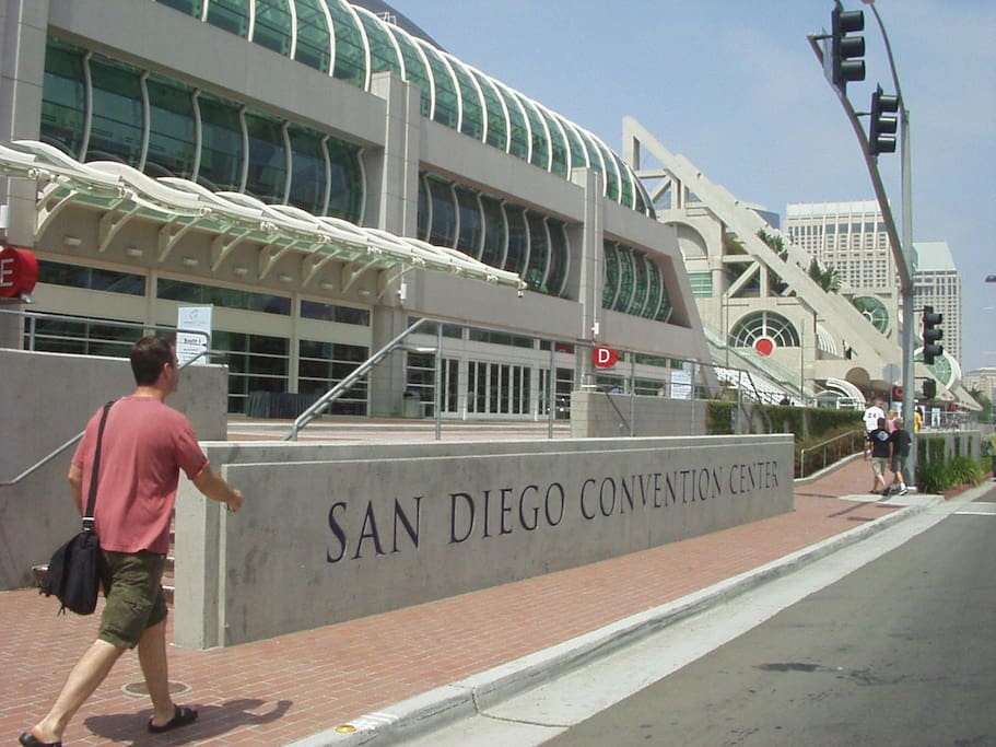 SouthWest of CONDO Convention Center is a 10 min walk to the property, or $2-3 by Uber