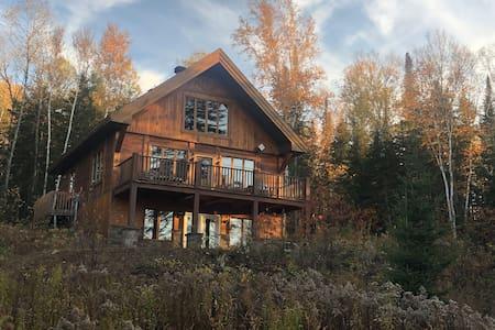 Le Scandinave-Chalet Design en bois massif