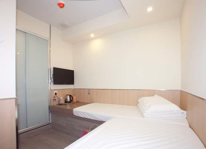 旺角區經濟標雙房Budget Twin Room@Mong Kok City Centre1907