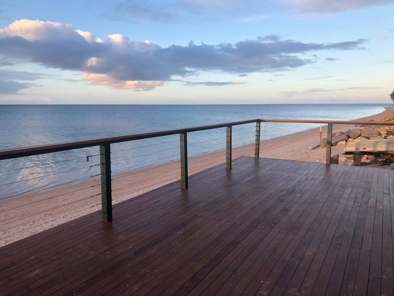 Deck with view!