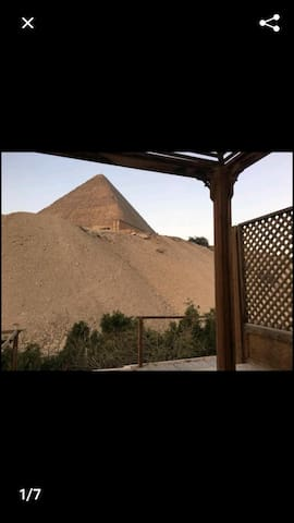 You be very close to the pyramid