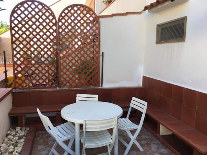Property with 3 bedrooms in Carpino, with furnished terrace - 11 km from the beach