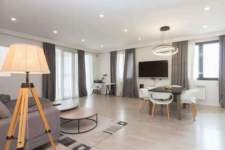 140 Sqm 'Gardens' Luxury Apartment with Pool + Gym