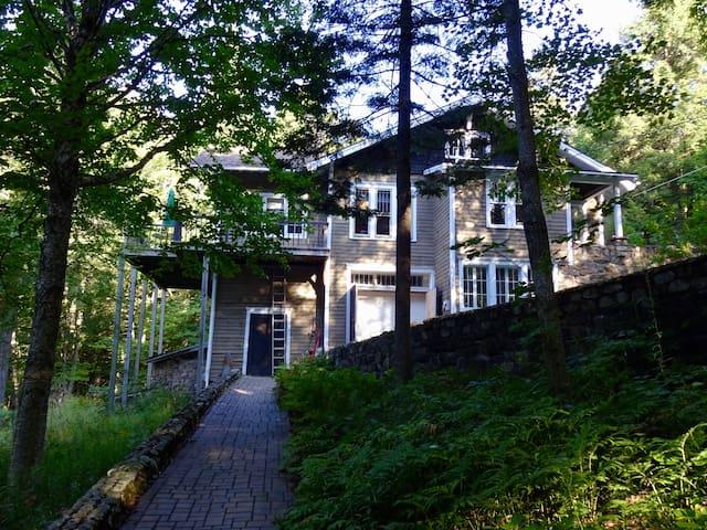Beech Hill House on Osgood Pond, Paul Smiths NY