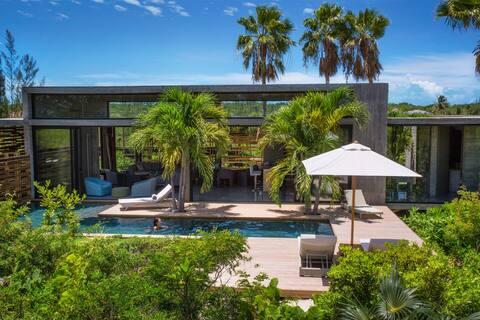 Villa Islander, Modern villa in Grace Bay