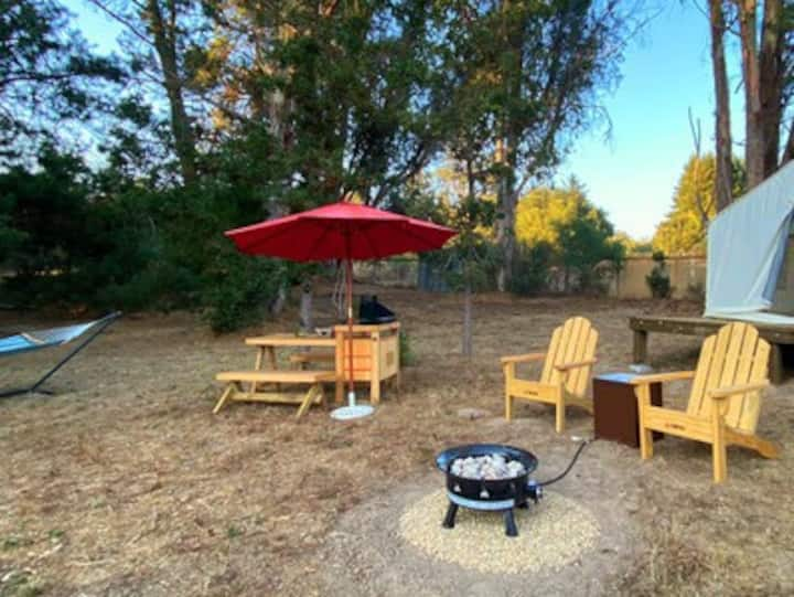 Tentrr Signature Site - The Lily Pad in Sonoma Wine Country