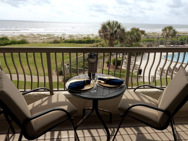 Relaxing Oceanfront In Amelia Island Plantation