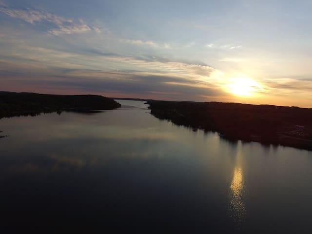 4 seasons on Lake Nosbonsing