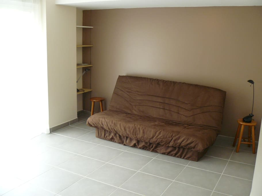 Le coin couchage