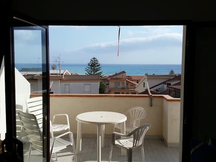Marina di Ragusa a 200 mt dal mare con vista