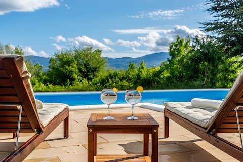 Casa di Oliva-Villa na osamljenom mjestu u prirodi