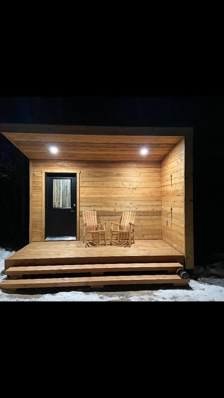 Stay in Micro Cabin #4 at NORTHGATE Trails!