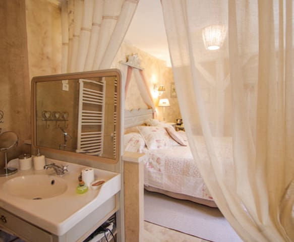Romantic Room - Saint-Jean-aux-Bois - Bed & Breakfast