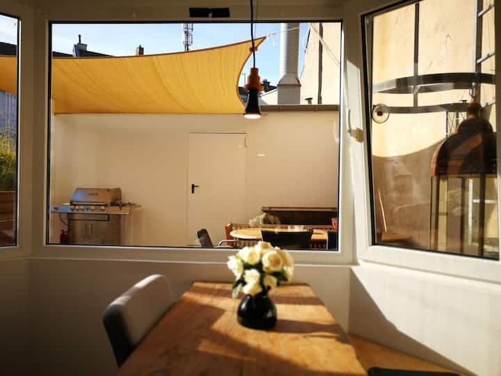 1ZiApp.,zentral,Cafés,Messenah Dachterrasse
