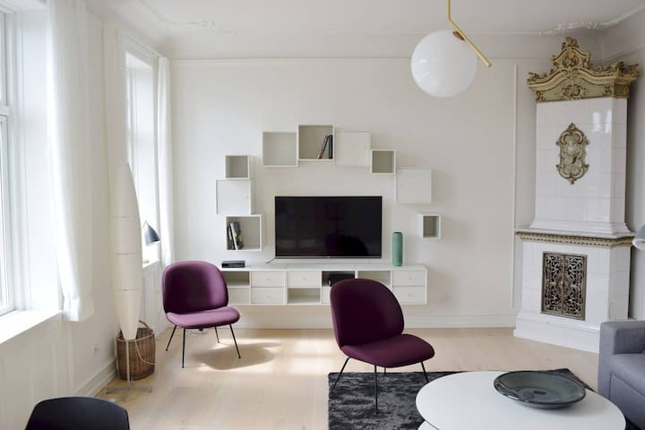 Beautiful designer apartment in the heart of CPH