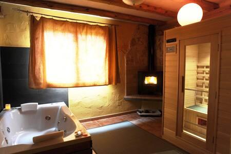 Apartamento rural con Spa privado- Arce Love SPA