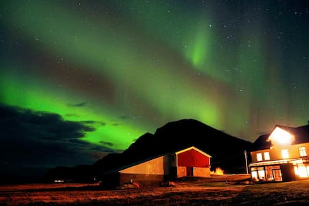 Northern Lights or Midnight Sun