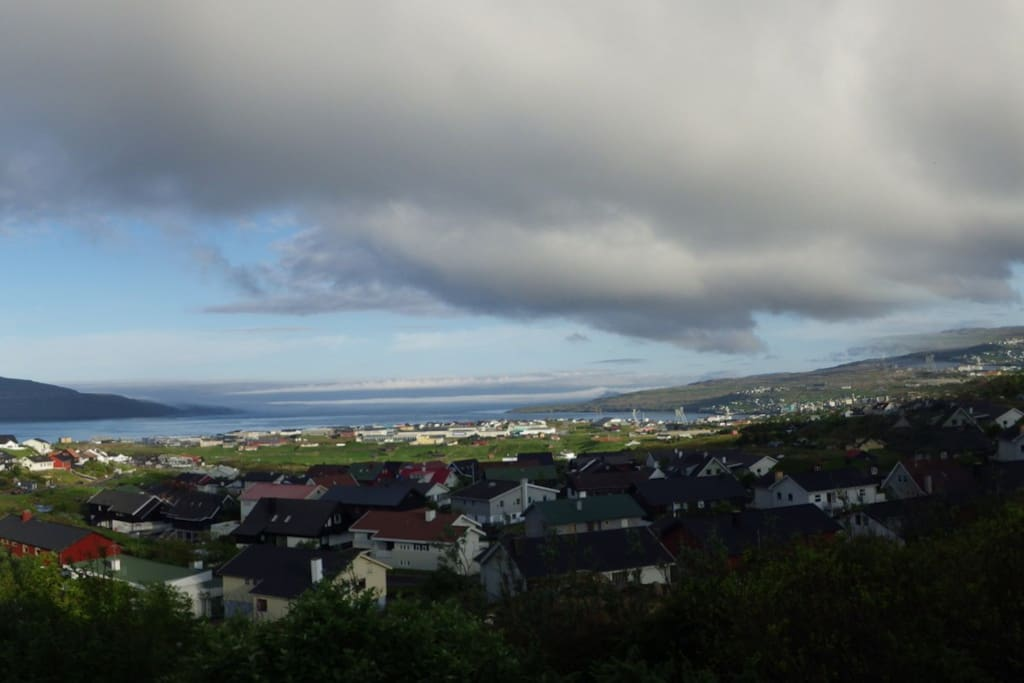 Great view over Tórshavn