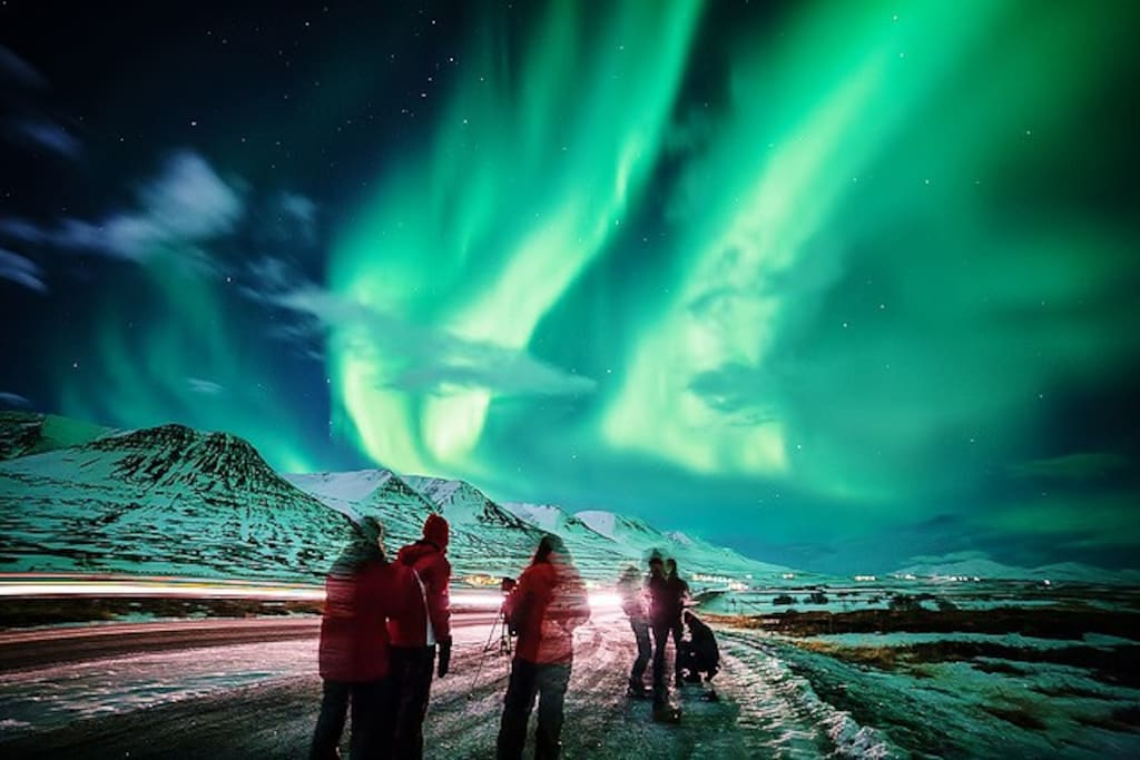 The location of the house is one of the best in the world to view the Northern  Lights