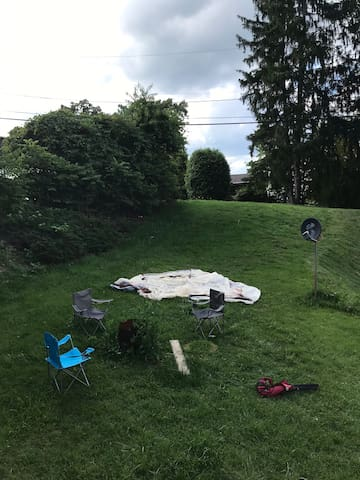 Cozy Campsite in the Heart of the New River Valley