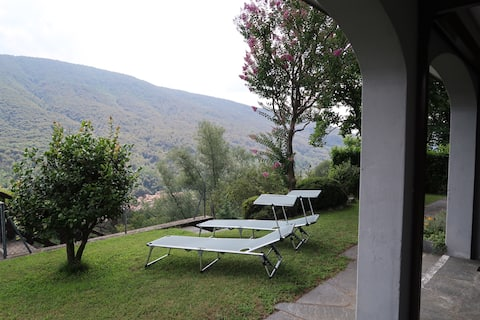 Loggia with sunbathing, Casa al ronco