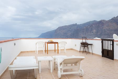 Best Studio Apartment in Tenerife + Super Terrace! - Santiago del Teide