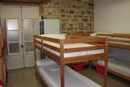 Cama en habitación compartida de 10 plazas - Valderrobres - 宿舍