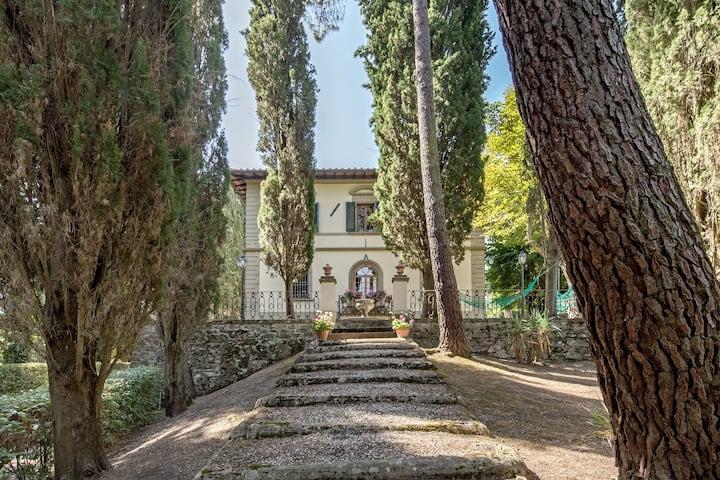 Appartamento in Villa di campagna e grande parco