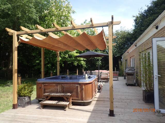 Hot Tub & Canopy