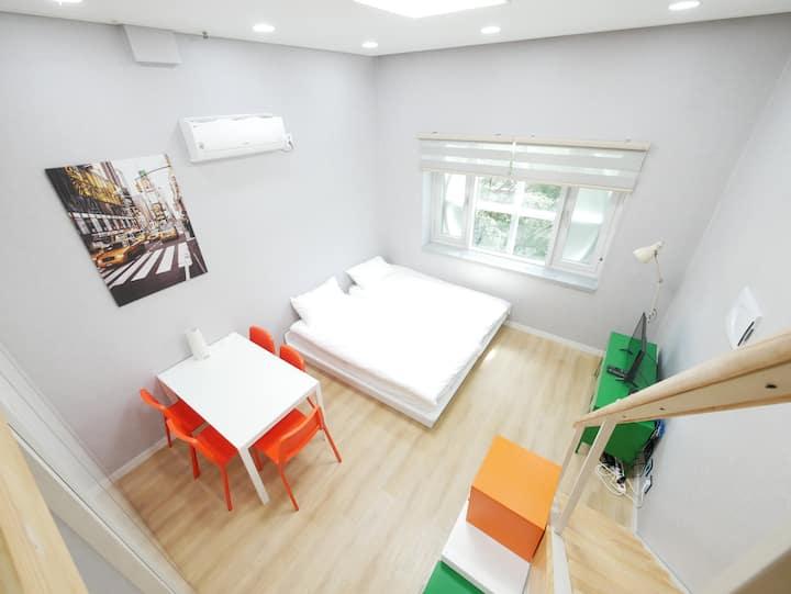 [Renovated Flat] ◆ DDM AIR BLOOMING Loft #135 ◆