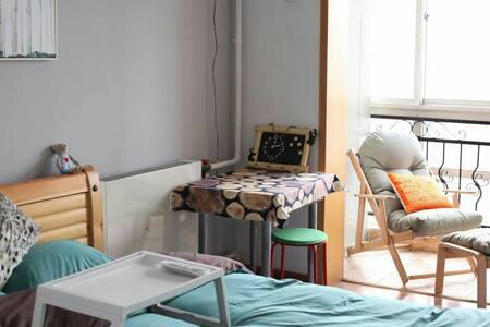 地铁十号线旁北欧风浪漫小两居 近北京西站307医院 - 베이징 - 단독주택