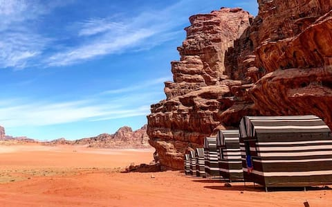 Wadi Rum Desert Camp - Colored