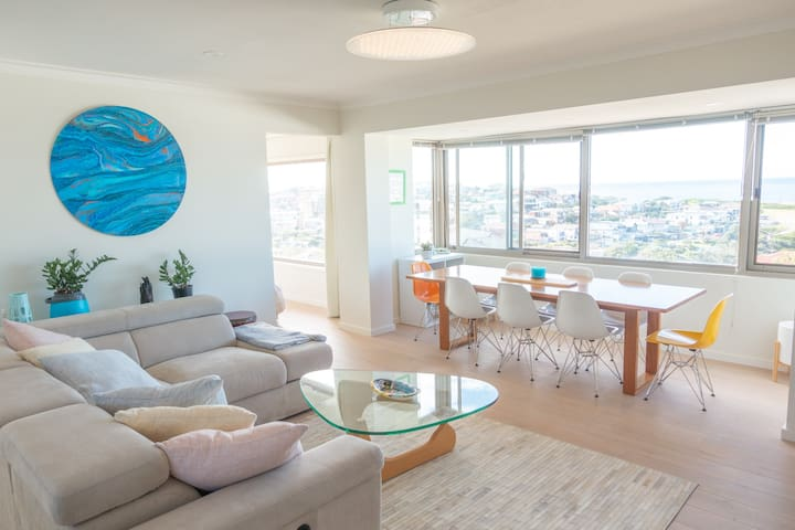 Panoramic Ocean and District Views over Clovelly