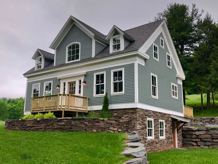 1800s farmhouse blending original features and all the modern amenities