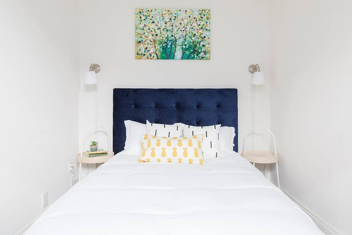 Sleep with confidence in knowing that the sheets we use are not only hypoallergenic but as well as thoroughly cleaned for the safety and comfort of our guests.