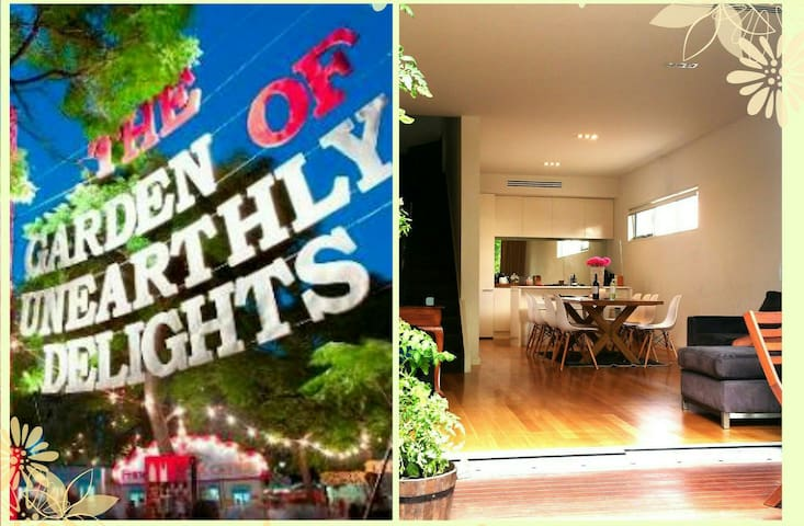 Cosmopolitan Townhouse in Norwood - ノーウッド - 一軒家