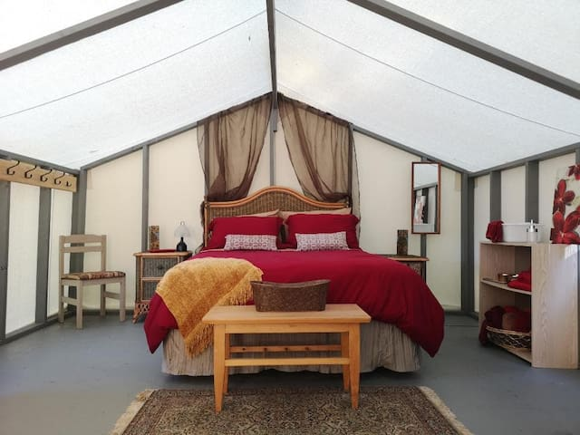 Wellspring Wall Tent Retreat - Bohemian Room (#4)