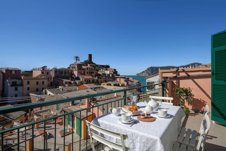 Cinque Terre Apartment Vernazza Casa Colomba - Vernazza - Apartamento