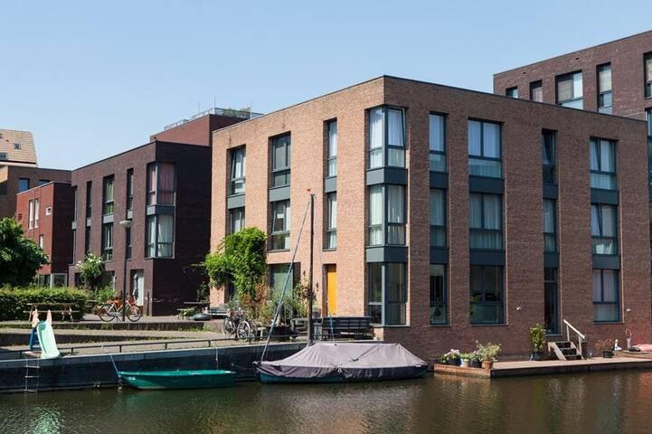 Lovely house with sunny garden in Amsterdam - Amsterdam - Rumah