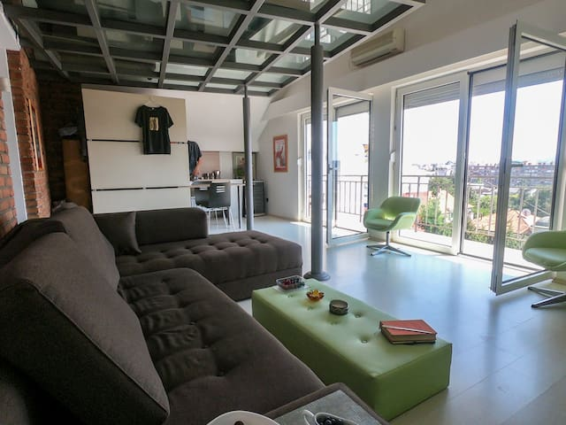 Panoramic View Loft